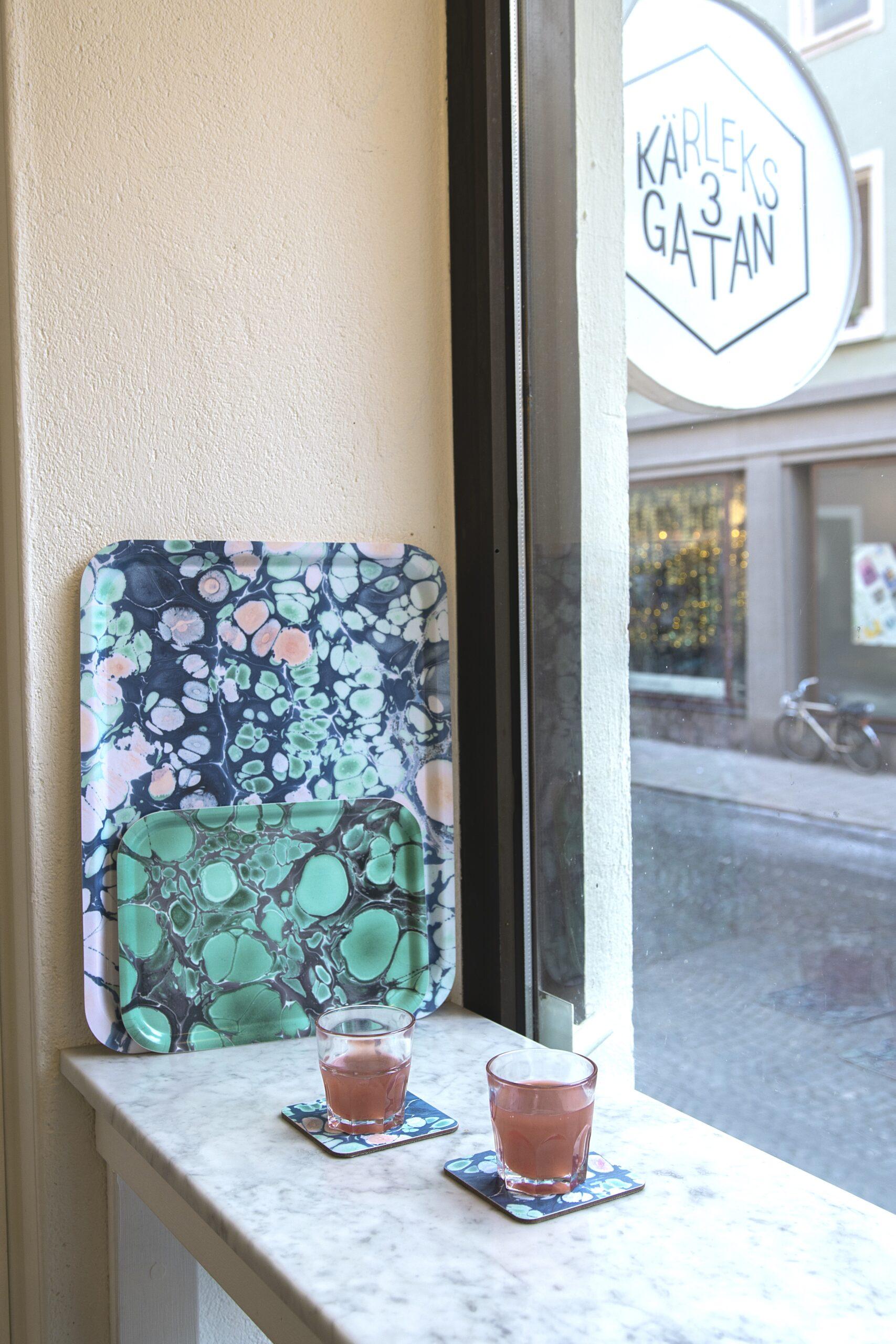 Spring Blossom + Deep Jade Kärleksgatan
